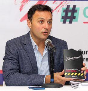 """Daniel Ivoskus. Diputado, consultor en comunicación digital y autor del libro """"Mentirosamente""""."""