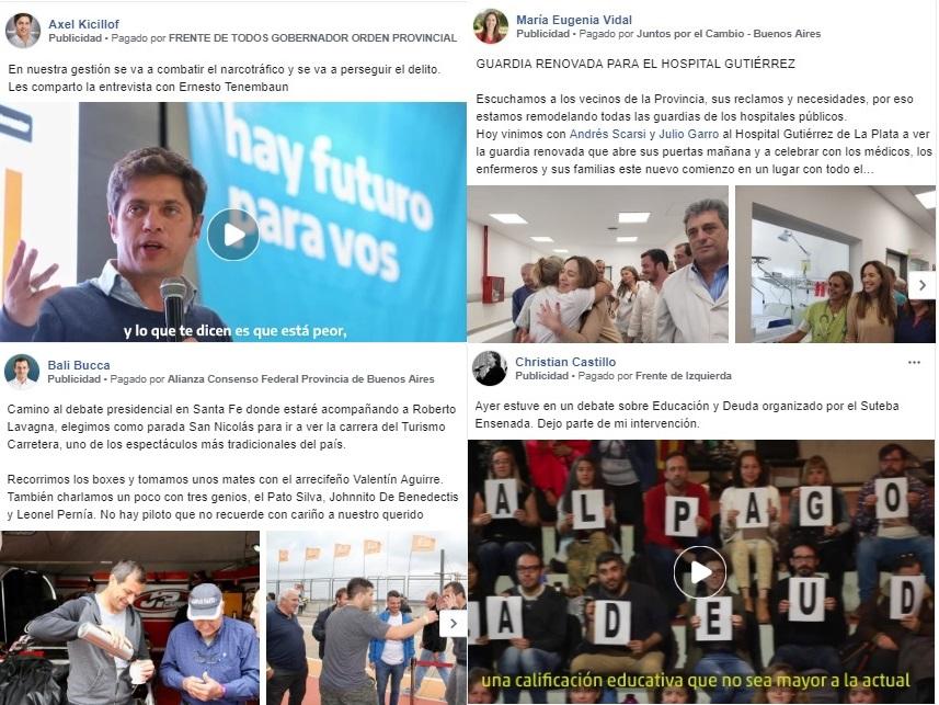 El uso de publicidad segmentada en las redes sociales se volvió una práctica común y necesaria para todos los partidos políticos.